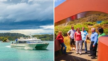 Ulva Island Explorer: Cruise & Guided Walk