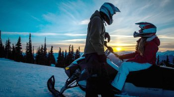 Blackcomb Snowmobile Mountain Safari