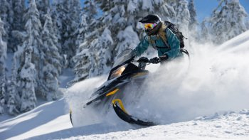 Wilderness Run Intermediate Snowmobile Tour