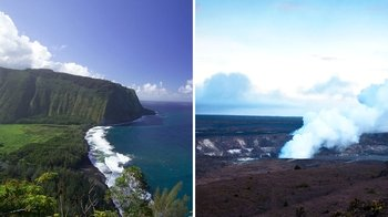 Day Trip to the Big Island with Circle Tour & Volcanoes National Park