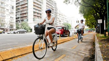 Parks & Plazas Bike Tour with Lunch & Mate Ritual
