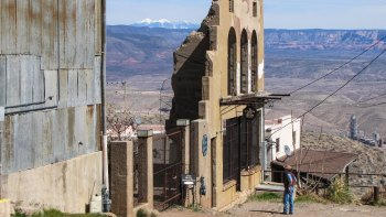 Ghost Tour in Historic Jerome