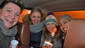 Private Evening Bar Tour with Vodka Tastings On board Fiat 125