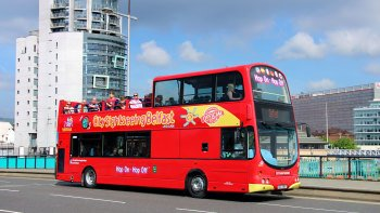 Shore Excursion: Belfast Hop-On Hop-Off Bus Tour