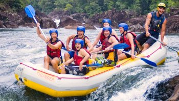 Full-Day Xtreme Tully River Rafting Experience with Lunch