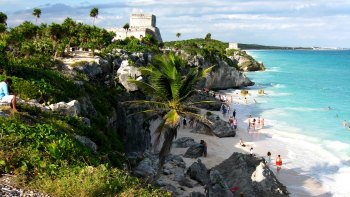 Coba, Tulum & Cenote Tankach-Ha Tour with Lunch