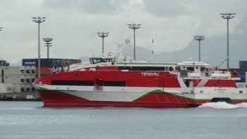 Shared Ferry: Papeete Airport (PPT) - Moorea