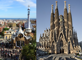 Park Güell & Sagrada Familia with transport in between