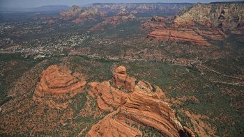 Airplane Tour over Sedona