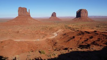 Grand Canyon by Air & Monument Valley 4x4 Tour