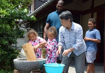 Local Farm Visit with Mochi Rice Cake Making & Lunch
