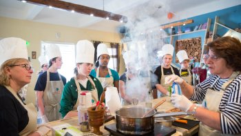 Small-Group Greek Cuisine Cooking Class