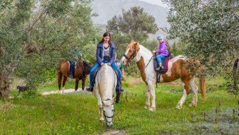 Small-Group Horseback Riding in Nafplio