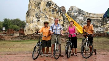 Full-Day Bike Tour of Ayutthaya City