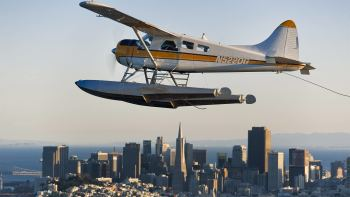 Seaplane Flight Over the Bay & Alcatraz Island Tour via Ferry