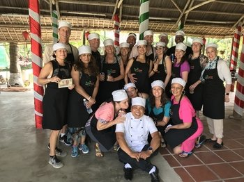 Cooking Tour with Lunch, Bamboo Boat Ride & Traditional Massage