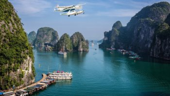 Seaplane Flight Over Ha Long Bay