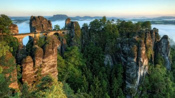 Small-Group Bohemian & Saxon Switzerland National Parks Day Trip with Lunch