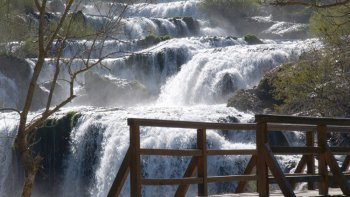 Full-Day Trip to Krka National Park from Split or Trogir
