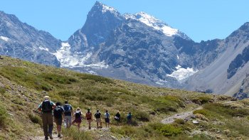 Glacier Hike 12 to 16K at El Morado National Park