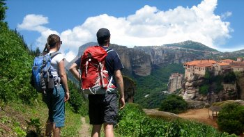 Guided Hike at Meteora