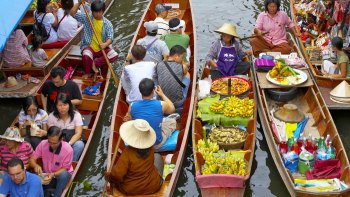 Private Morning Tour of Damnoen Saduak Floating Market