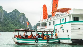 2-Day Halong Bay Tour with Seaplane Flight & L'Azalée Cruise