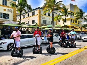 Visite de South Beach en Segway