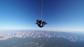 Skydiving Experience at the Grand Canyon