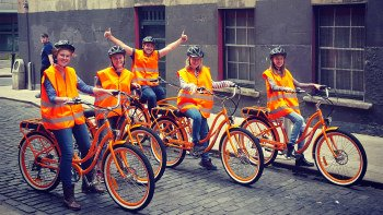 City E-Bike Tour from Temple Bar to Dublin Castle & St. Patrick's Cathedral