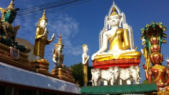 Full-Day Chao Phraya Canal Tour with Visit to Grand Palace & Reclining Budd...