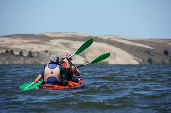 Full-Day Kayak Tour of the Curonian Spit from Klaipėda