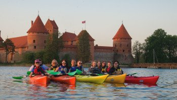 Guided Kayak Tour in Trakai