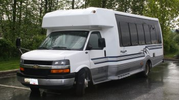 Private Executive Minibus: Downtown Vancouver - Whistler