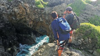 Hike to Pagat Point & a Chamorro Village with Cave Swimming