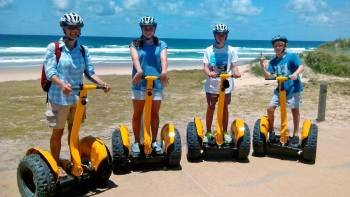 Segway Safari Tour along the Gold Coast