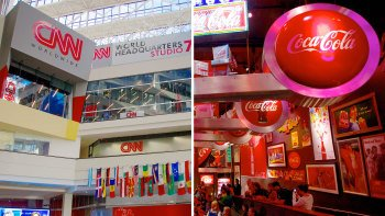 World of Coca Cola and CNN Center Combo Tour with Transport