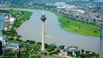 Düsseldorf City Sightseeing Helicopter Flight