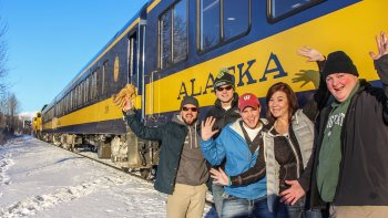 Hops on the Rail Beer Tour to Talkeetna