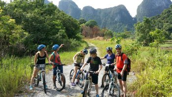 Full-Day Countryside Mountain Bike to Gold Mines, Wind & Fairy Caves