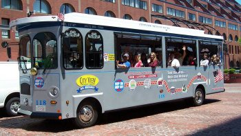 Boston Hop-On Hop-Off Trolley Tour