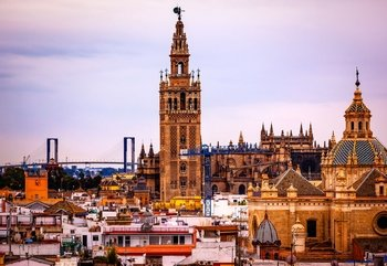 Combo: Tour to the Alcázar & the Cathedral of Seville