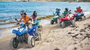 Off-Roading ATV Tour to Orient Bay