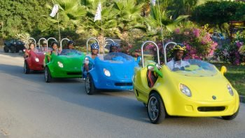 Guided Saint Martin Island Tour via Scoot