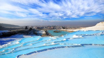 Full-Day Hierapolis & Pamukkale Tour with Lunch