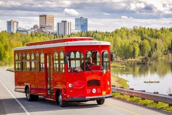 Anchorage City Trolley Tour