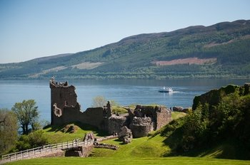Loch Ness Cruise with a visit to Urquhart Castle