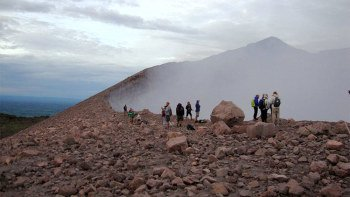 Sunset Hike to Volcan Telica Crater Rim