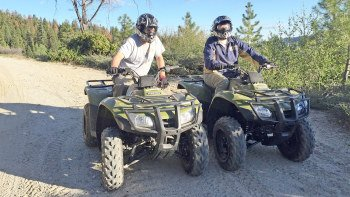 2 Hour Sierras Quad bike Tour