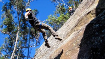 Abseiling Adventure at Glenworth Valley